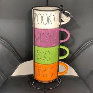Rae Dunn Stacking Mugs Brand New !!